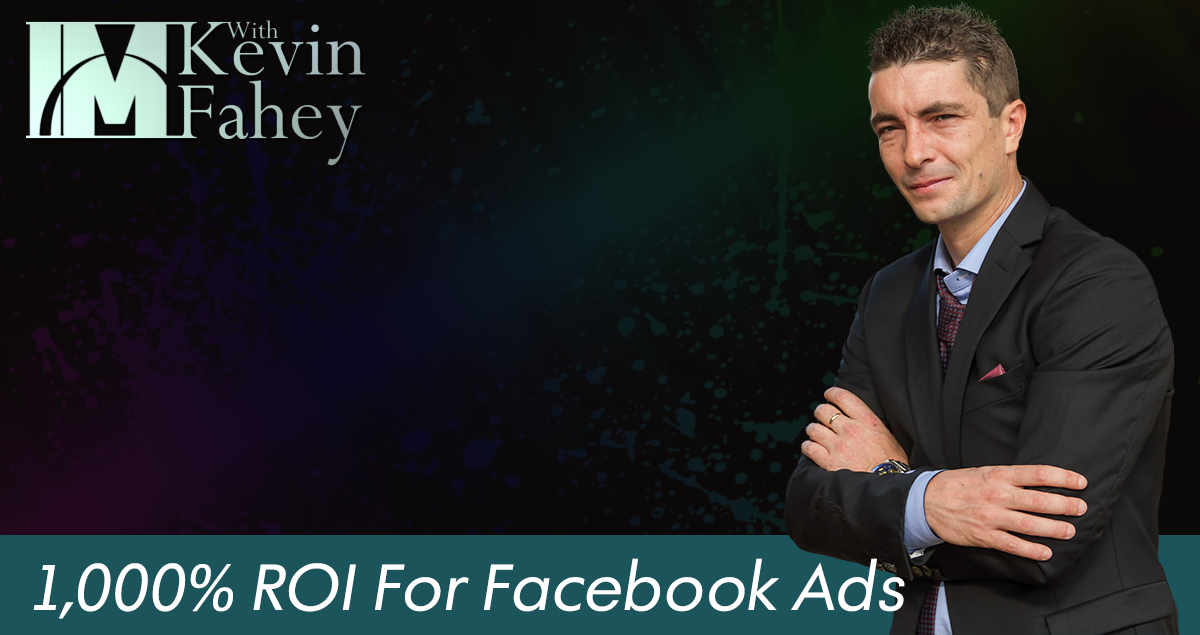 1,000% ROI From Facebook Ads