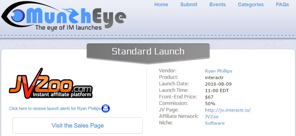 Munch Eye Affiliate Network